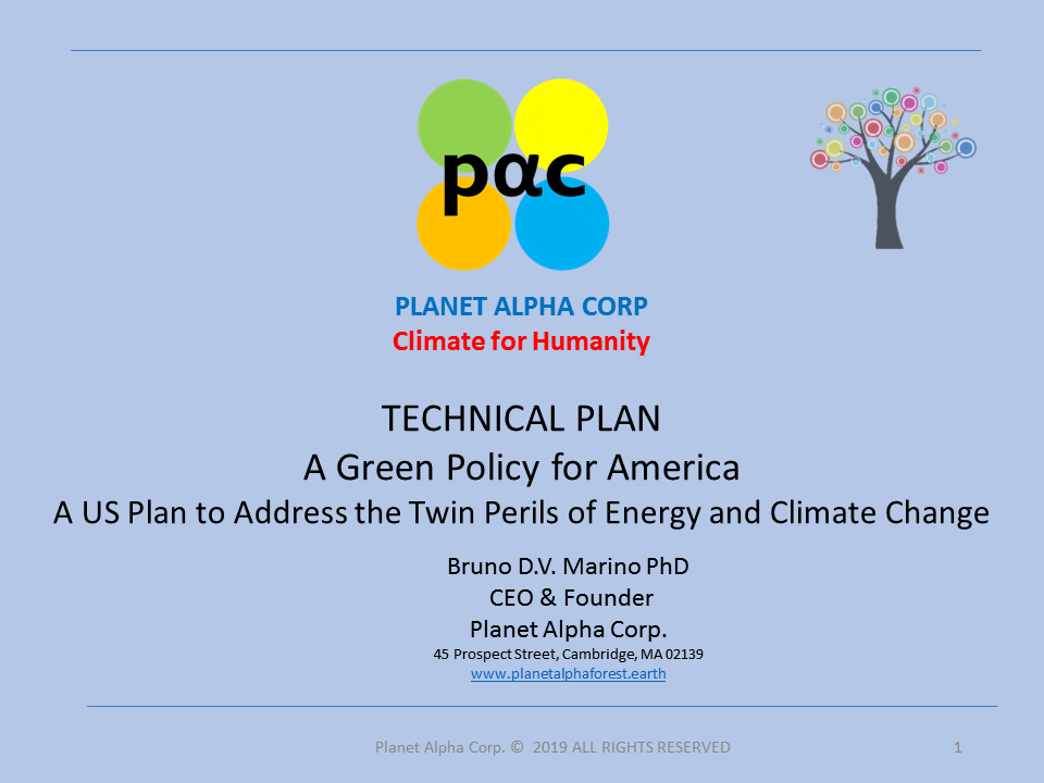 Green Policy Technical Plan - Planet Alpha Corp  Forest